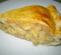 Torta de Maçã - Pedaço