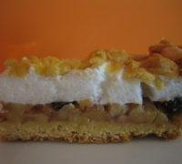 Szarlotka Torta de Maçã Polonesa - Fatia